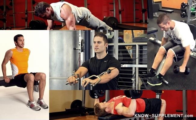 ออกกำลังกายเพิ่มหน้าอก